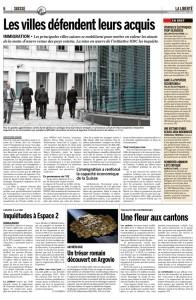 2015-11-20 Inquiétudes à Espace 2 (La Liberté+Le Courier)