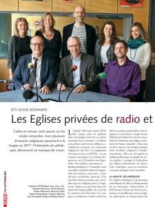 2015-11-25 Les Eglises privées de radio et de télé (Echo Magazine)