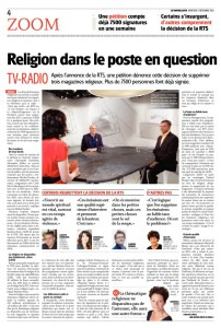 2015-12-02 Religion dans le poste en question (Le Nouvelliste)