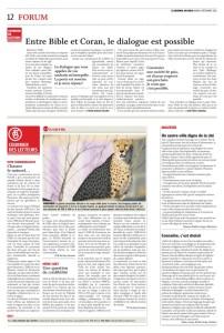 2015-12-08 Connaître, c'est choisir, par ML Krafft Golay (Journal du Jura)