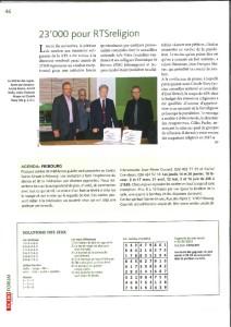 2016-01-13 23'000 pour RTSreligion (L'Echo Magazine)