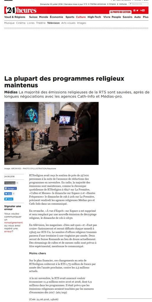 thumbnail of 2016-06-24 La plupart des programmes religieux maintenus (24heures)