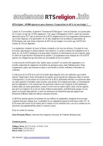 thumbnail of RTSreligion Communiqué 10'000 signatures