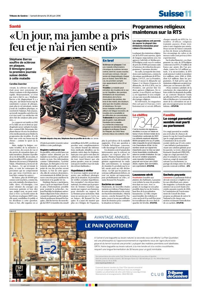 thumbnail of 2016-06-25 Programmes religieux maintenus sur la RTS (Tribune de Genève)